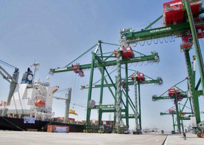 Причальные контейнерные краны-перегружатели (STS).Производство, проектирование, изготовление, модернизация и сервис портовых кранов в Украине