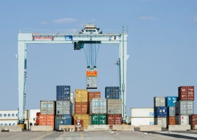 Портальные козловые контейнерные краны на пневмоколесном ходу (rtg)