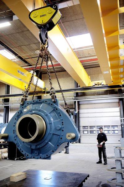 Двухбалочный мостовой кран smarton.Производство проектирование изготовление двухбалочных, однобалочных и специальных мостовых кранов.